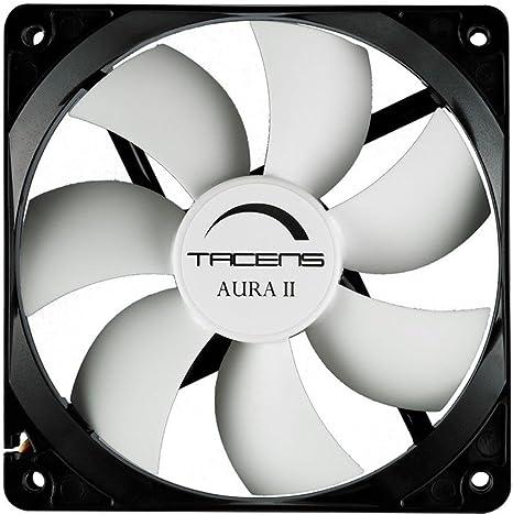 Tacens Aura II - Ventilador para ordenador (8 cm, +60.000 h ...