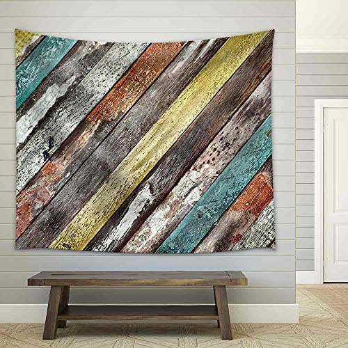 Wood Background Fabric Wall
