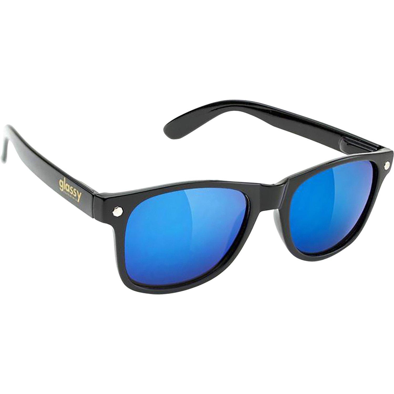 02d3939100 Glassy Sunhaters Leonard negro/azul espejo gafas de sol Outlet - www ...