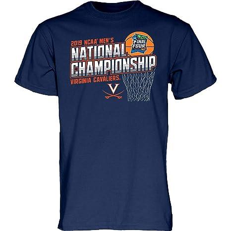 93bb6fe91de9 Elite Fan Shop Virginia Cavaliers National Basketball Championship Tshirt  2019 Navy - M