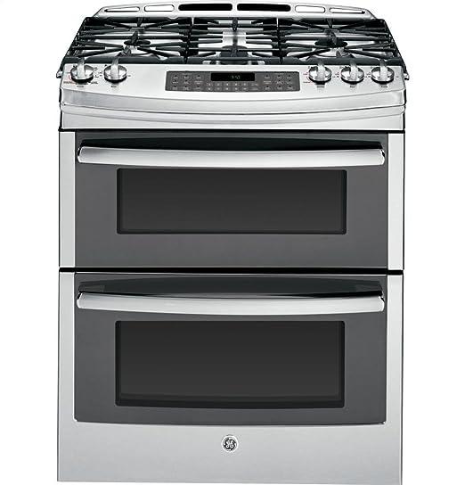Amazon.com: GE PGS950SEFSS Profile cocina a gas de acero ...