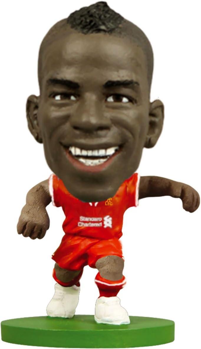 SoccerStarz Liverpool Mario Balotelli Mini-Figur in Heimausr/üstung