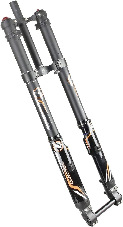 "DNM USD-8 Mountain Downhill Bike Air Fork Taper 203mm 20mm Axle 26/"""