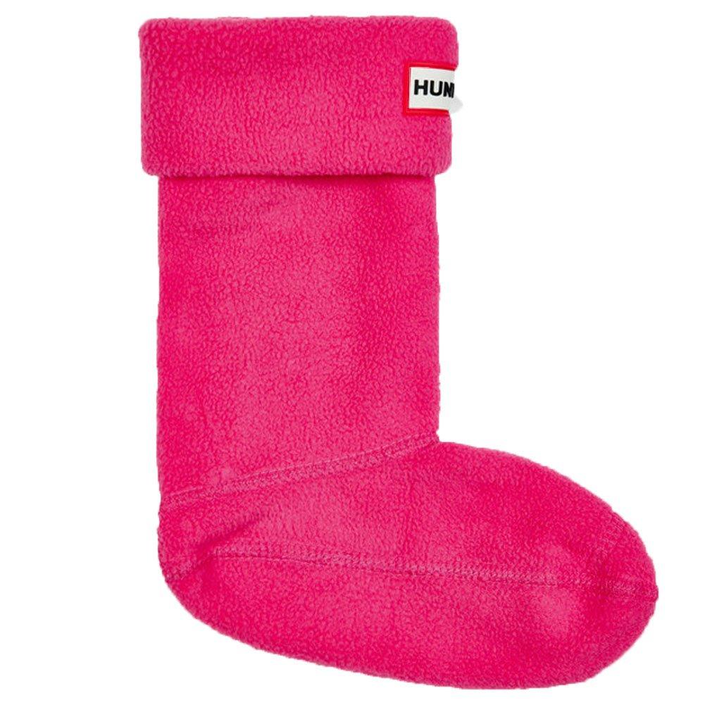 hunter Kids Fuchsia Fleece Welly Socks-X-Large