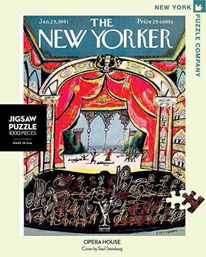 House 1000 Piece Puzzle (New York Puzzle Company - New Yorker Opera House - 1000 Piece Jigsaw Puzzle)
