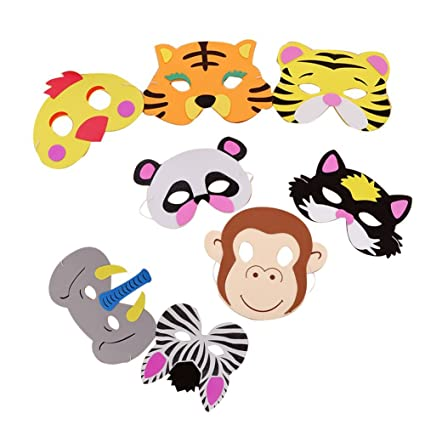 Isuper Mascarilla Animal para los niños,Animal Masks,Máscara de Cosplay, Máscaras Surtidos