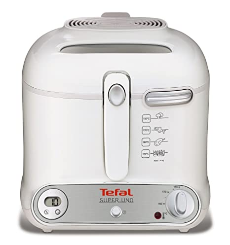 Tefal FR3021 - Freidora, 1800 W, color blanco