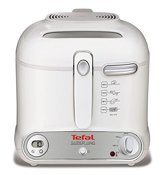 Tefal FR3021 - Freidora, 1800 W, color blanco: Amazon.es: Hogar