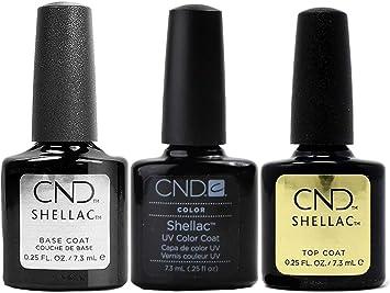CND Shellac Clearly Pink Pack of 3, Esmalte de gel de uñas - 22 ml.: Amazon.es: Belleza