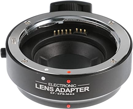 Fotga adattatore per Olympus OM Mount Lens to Canon EOS M EF-M fotocamera mirrorless