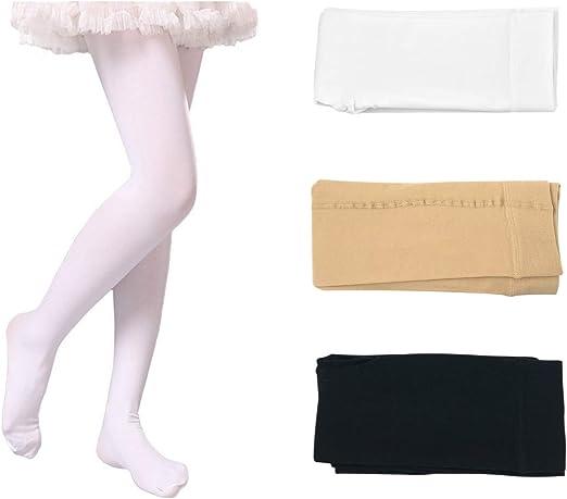 Velvet Dance Children Thick Fleece Pants White Warm Pants Winter Pantyhose