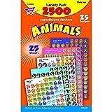 Trend Enterprises Animals Super Spots & Super Shapes Variety Pack (T-46904)