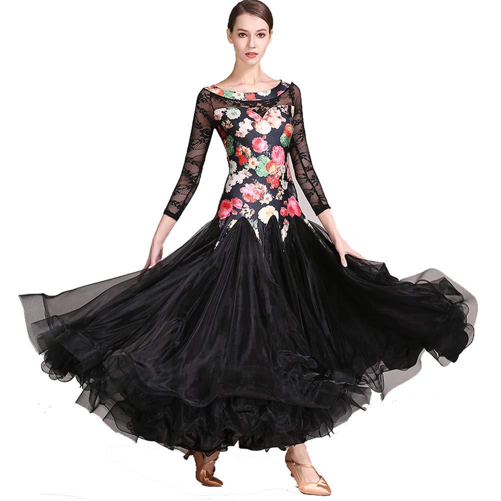 YILINFEIER DRESS レディース B07HDS9B3H  ブラック Small