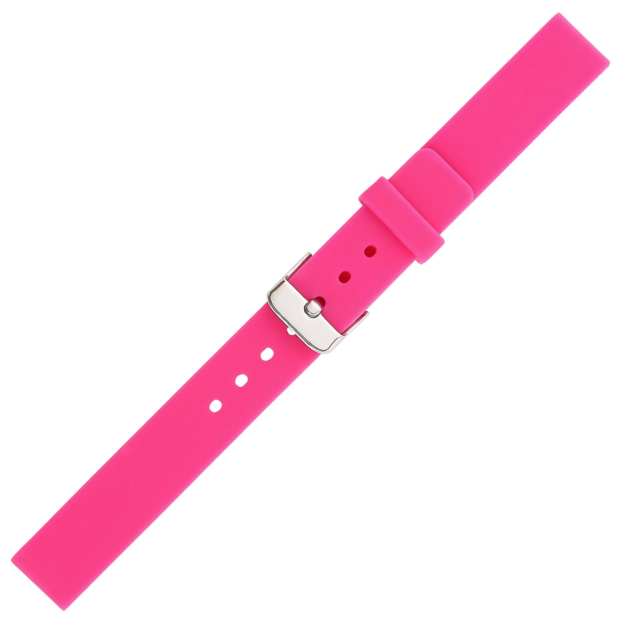 Kiiso Girl's and Boy's Sport Silicone Watch Bands 14MM (Pink) by Kiiso