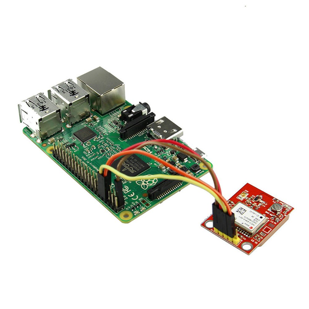 Gowoops GPS Module with TTL Ceramic Passive Antenna for Arduino Raspberry Pi 2 3 B MCU