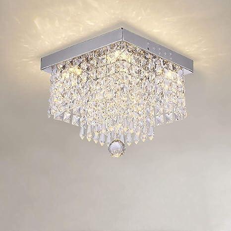 Cuadrado Pasando la lámpara simple Sala de estar Led Luz de ...