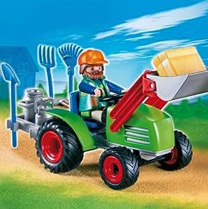 Playmobil 626004 - Granja Tractor Granjero