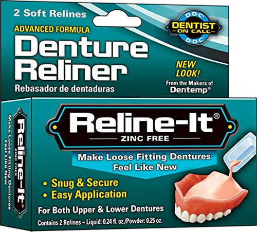 D.O.C. Reline-It Advanced Denture Reliner Kit (Pack of 3)