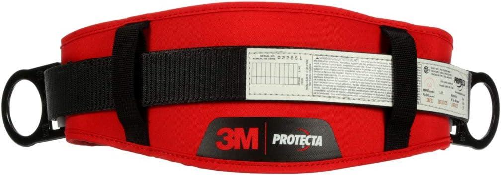 Black XL 3M PROTECTA 1091015 PRO Tongue Buckle Belt