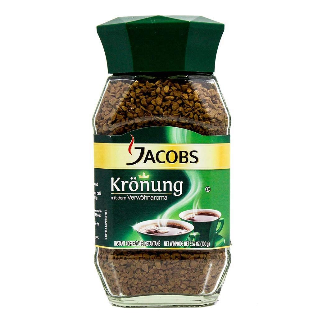 Jacob's Coffee Jacobs Kronung Instant, 7.05-Ounce (Pack of 6) by Jacob's Coffee