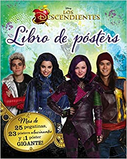 Los Descendientes. Libro de pósters: Amazon.es: Disney, Editorial ...