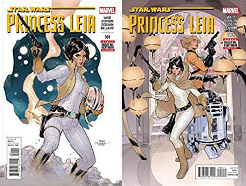 STAR WARS #10 DEC 2015 LUKE SKYWALKER PRINCESS LEIA MARVEL NM COMIC BOOK 1