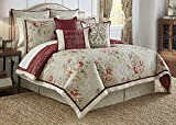 Waverly Fresco Flourish Reversible Comforter Set, King, Jewel