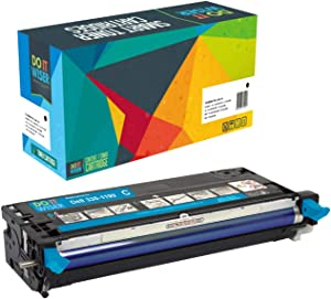Do it Wiser Compatible Toner Cartridge Replacement for Dell 3130 3130cn - 330-1199 - Cyan High Yield