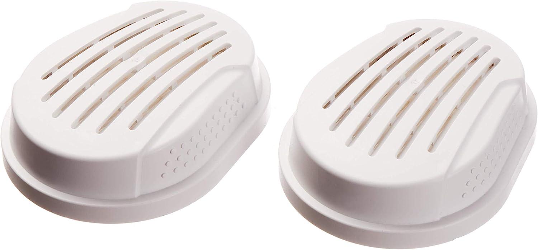 Dräger X-plore® 2 P3 R filtros a Bayoneta para máscaras de protección respiratoria Frente a partículas de Polvo, Cobre, Polen o arsénico