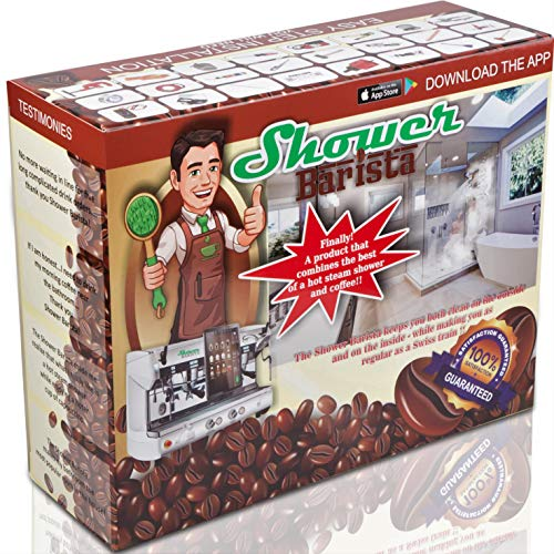Prank Gift Boxes, Inc. Shower Barista! Prank Box for Adult or Kids! Empty Prank Pack/Gag Box for Fun Present Giving! The Fake Joke Box for Lovers of Funny Gag Gifts and Funny Pranks