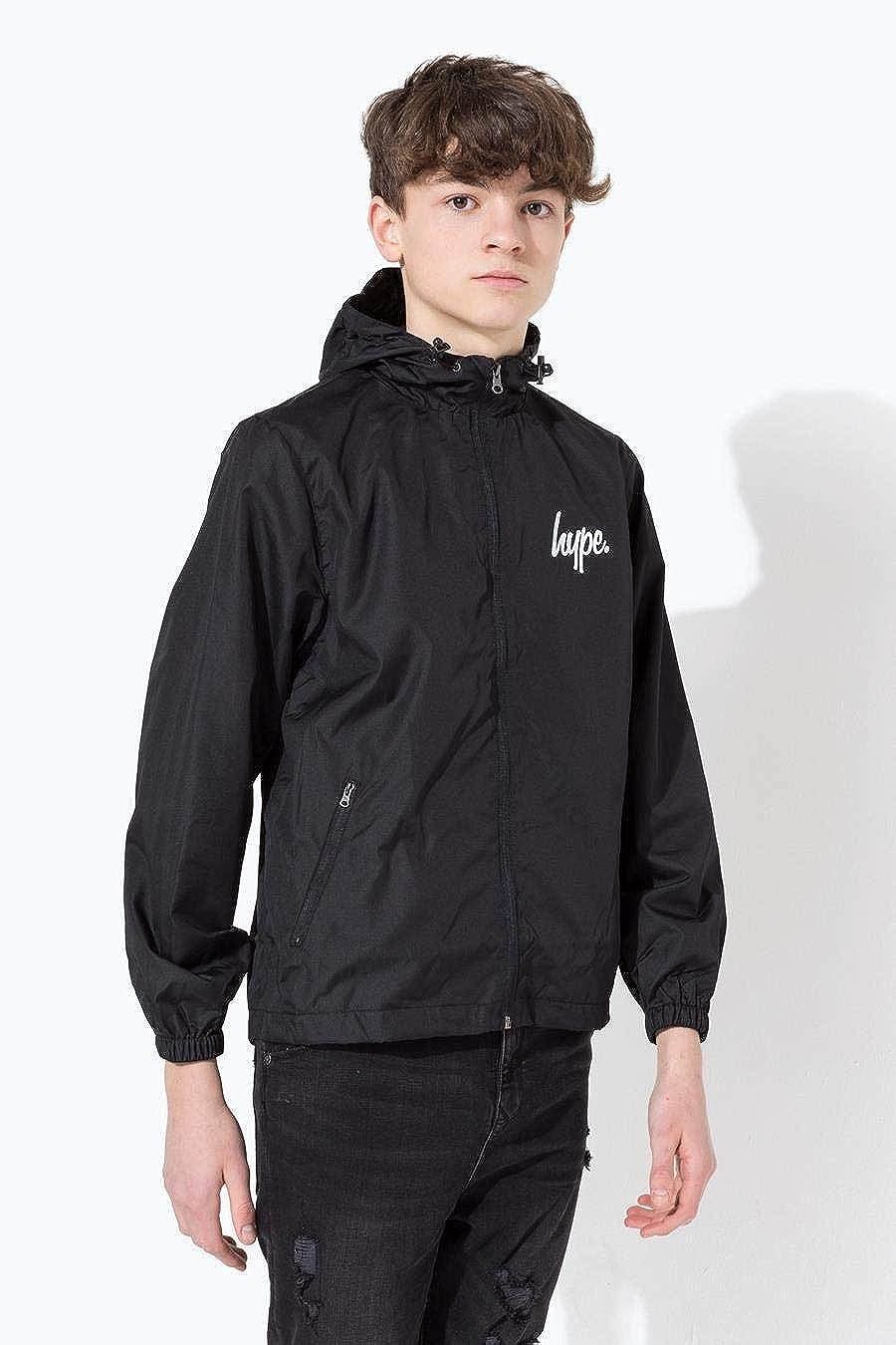 Hype Black Core Kids Runner Jacket