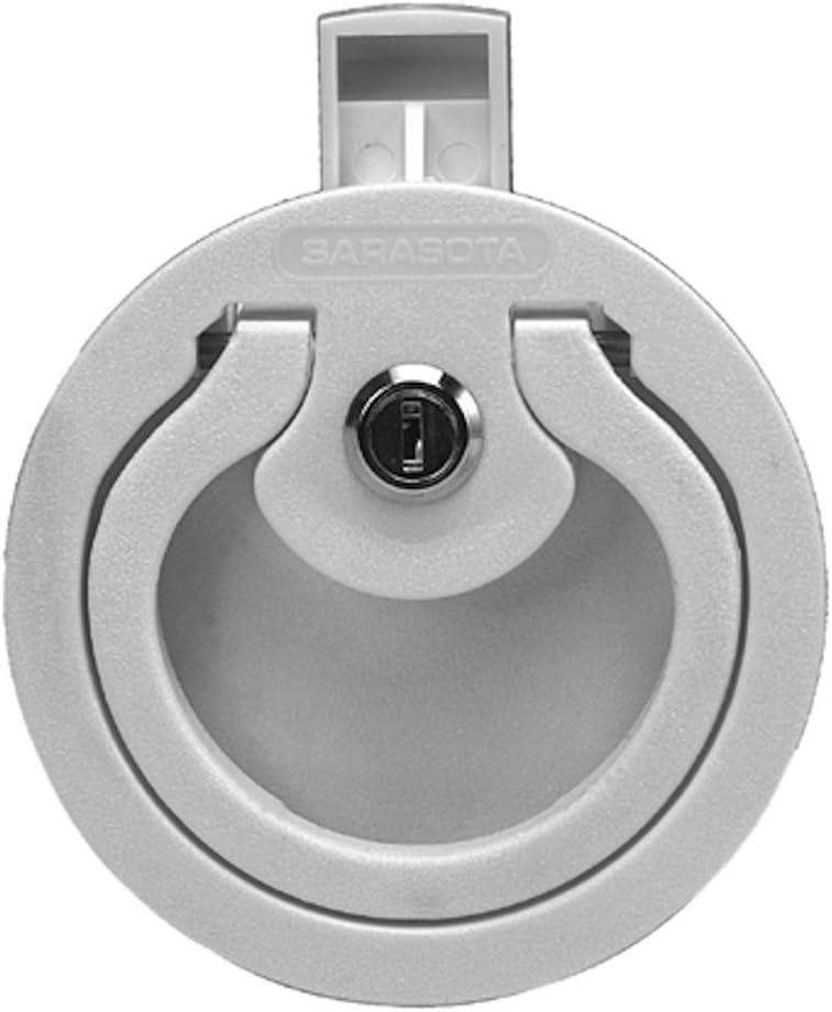 Sarasota Quality Products LS100 Slam Lock Latch Gray