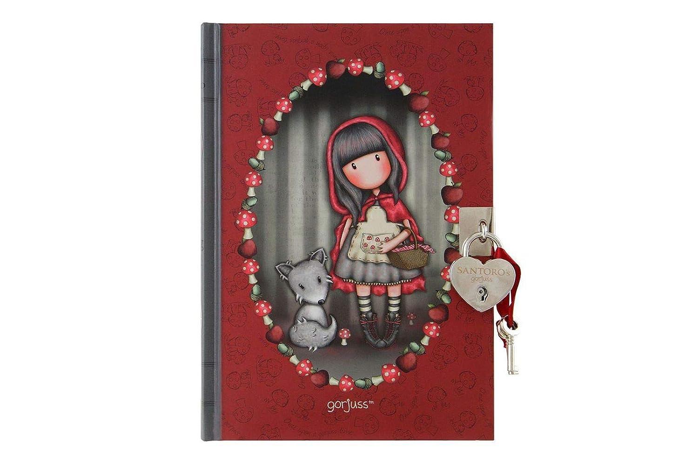 Little Red Riding Hood Diario Gorjuss con candado