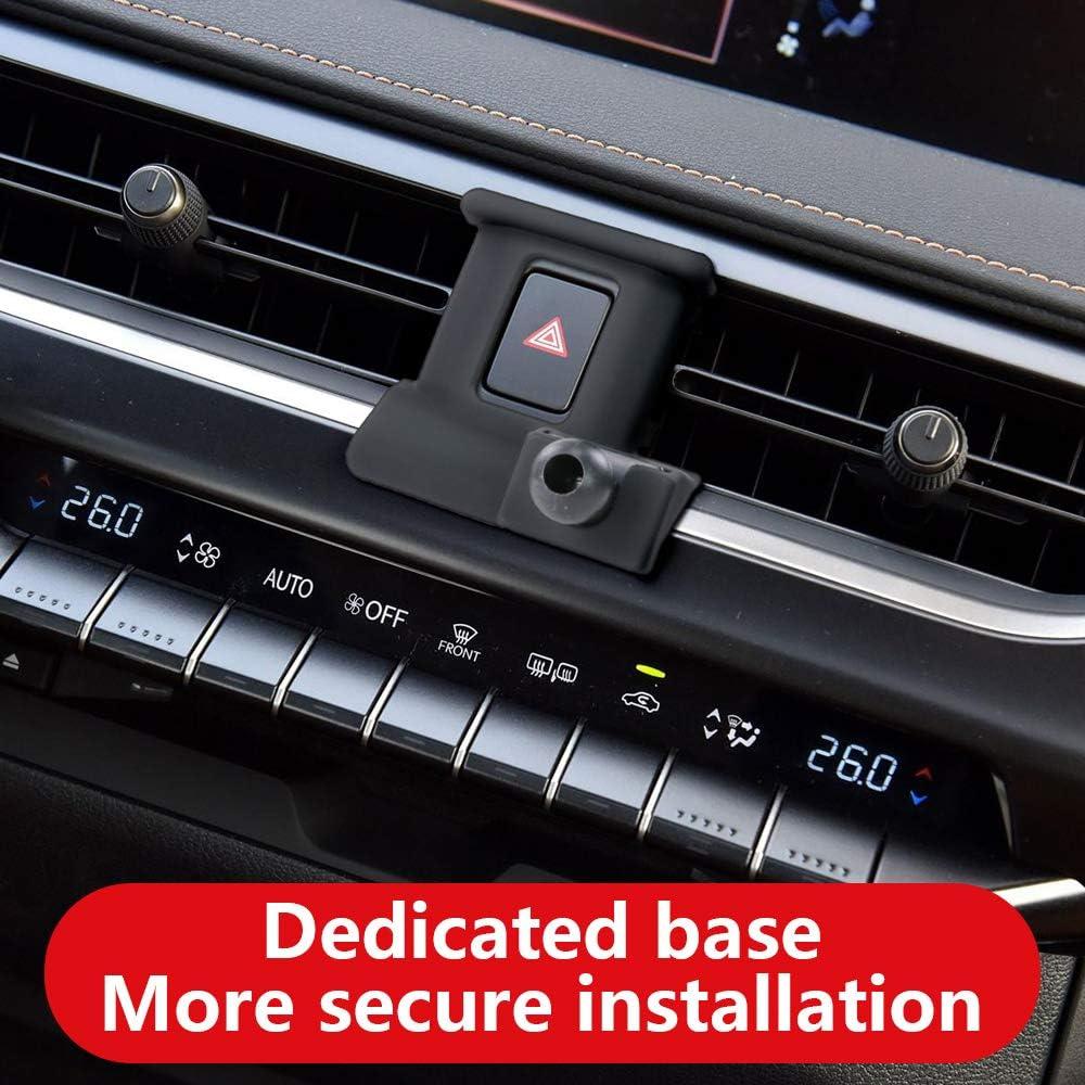 LUNQIN Car Phone Holder for Lexus UX 200 250h SUV 2019-2020 Auto Accessories Navigation Bracket Interior Decoration Mobile Cell Phone Mount