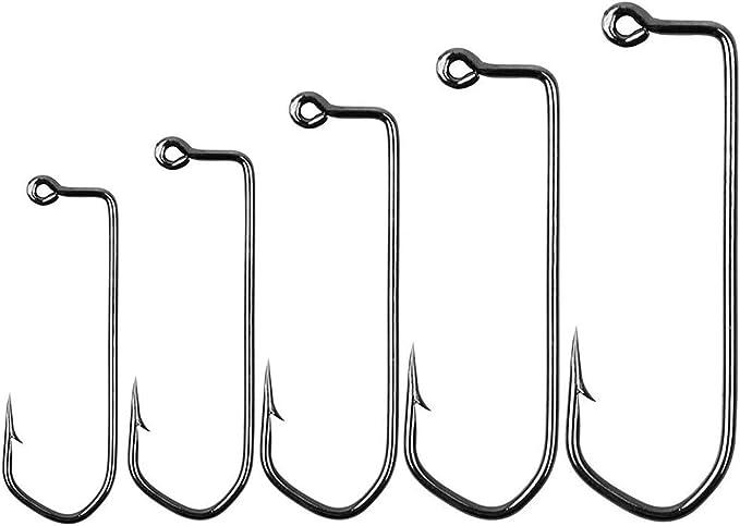 Matzuo American Aberdeen Jig 90 Leg Bronze Hook Size 4//0 Qty 100 Hook 117024-4//0