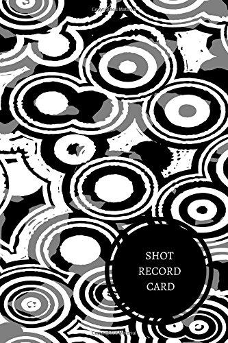 Shot Record Card: Health Log Book pdf epub