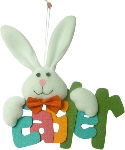 Primitive Rustic Style Easter Bunny Rabbit Decorative Food Bag of 6 Carrots