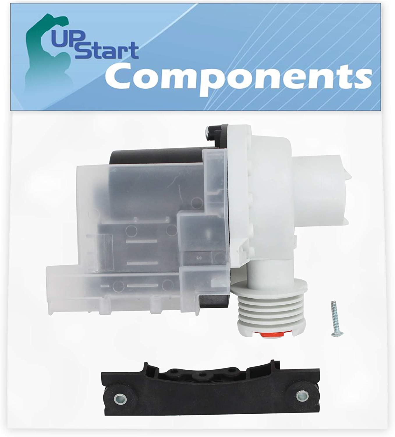 137221600 Washer Drain Pump Kit Replacement for Frigidaire ATF6700FS1 Washing Machine - Compatible with 137221600 Water Pump - UpStart Components Brand