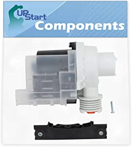 137221600 Washer Drain Pump Kit Replacement for Frigidaire Washing Machines - Compatible with Part Number AP5684706, 131724000, 134051200, 134740500, 137108100, 137151800, 137151800KITK, PS7783938
