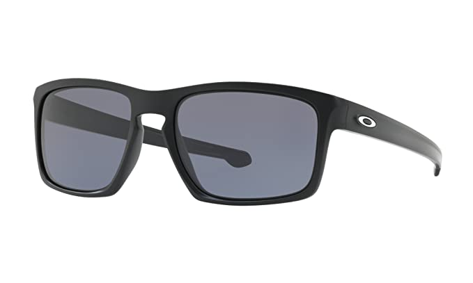 6bc94da363a Amazon.com  Running Bundle  Oakley Sliver Sunglasses Matte Black Grey  (0OO9262)   Earbuds  Clothing
