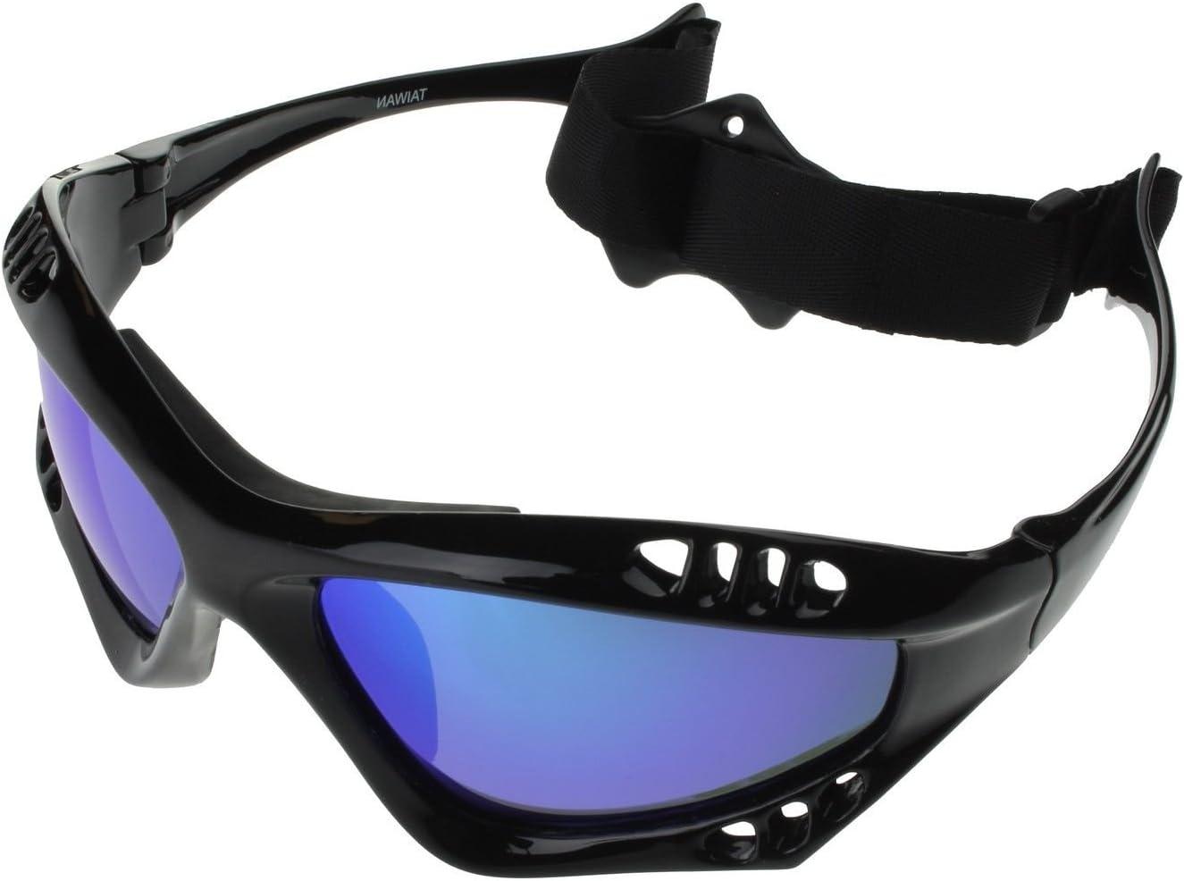 G&G Jetski Sunglasses Polarized Water Sport Surfing Kiteboarding P603 Color Mirror