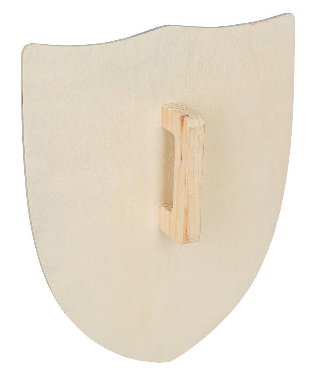 Idena 40032/ Legno Spada e Scudo /Croce Cavaliere Set per bambini