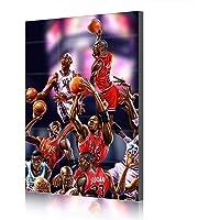 Chicago Bulls Michael Jordan Canvas Prints Poster Baloncesto