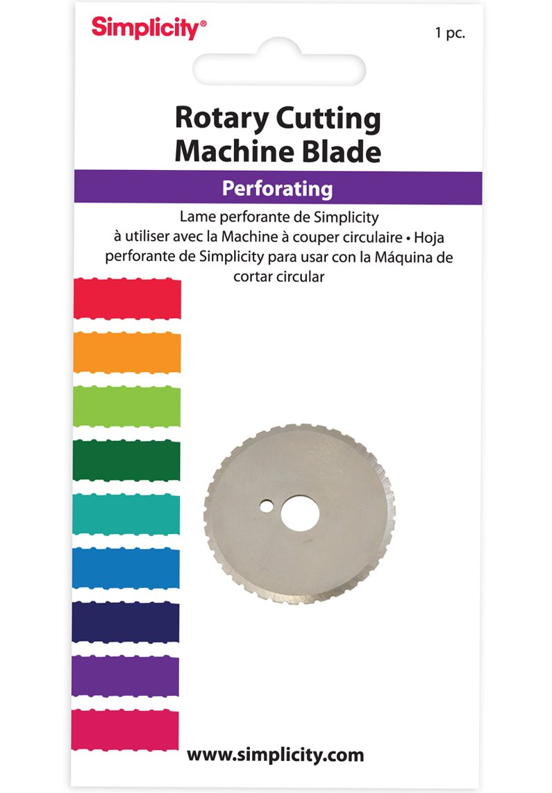 Simplicity Perforating Rotary Cutting Blade Simplicity Creative Group Inc 881984