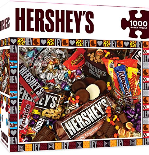 MasterPieces Hershey's Jigsaw Puzzle, Mayhem, Chocolate Collage, 1000 Pieces