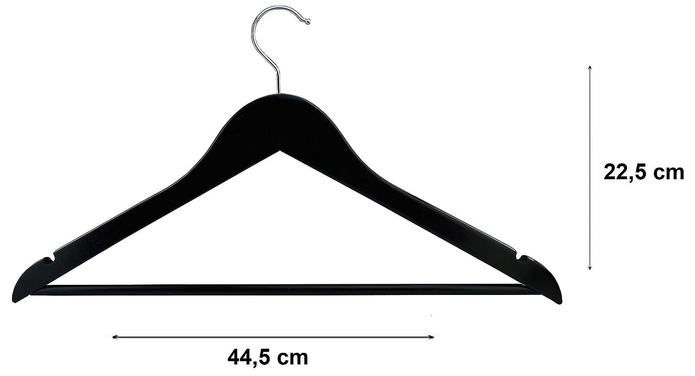 RSR Hangers Variante Cintre en Bois 44,5 cm Wei/ß Lot DE 10