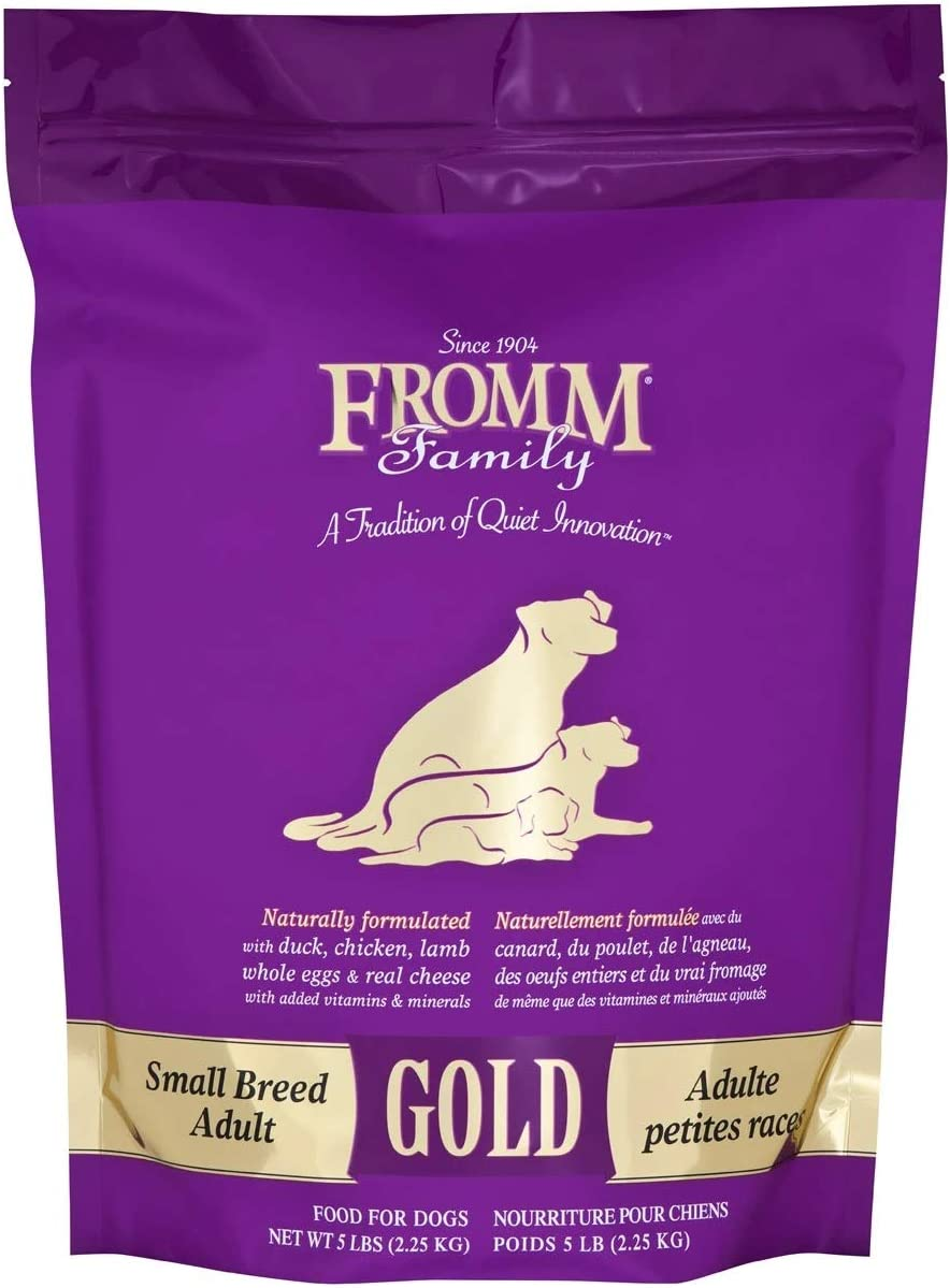 Fromm Family Foods Gold Small Breed Adult Dry Dog Food (5 lb)