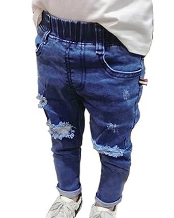 zum halben Preis laest technology heiße neue Produkte Guiran Mädchen Jeans Kinder Hose Stretch Jeanshose Gummizug ...