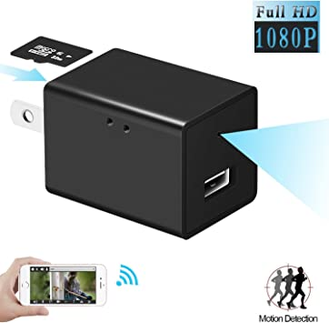 1080P Wireless Hidden Camera 5Port USB Charger Spy Security Cam Motion Detection