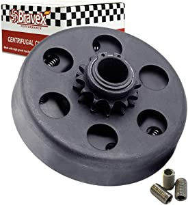 "Motovecor Centrifugal Clutch Go Kart Clutch Predator Engine Clutch Baja Mini Bike 3/4"" Inch Bore 12 Tooth 12T for #35 Chain 6.5HP - Upgrade"
